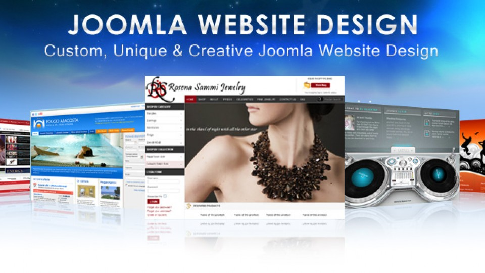 joomla website designing company in karnal